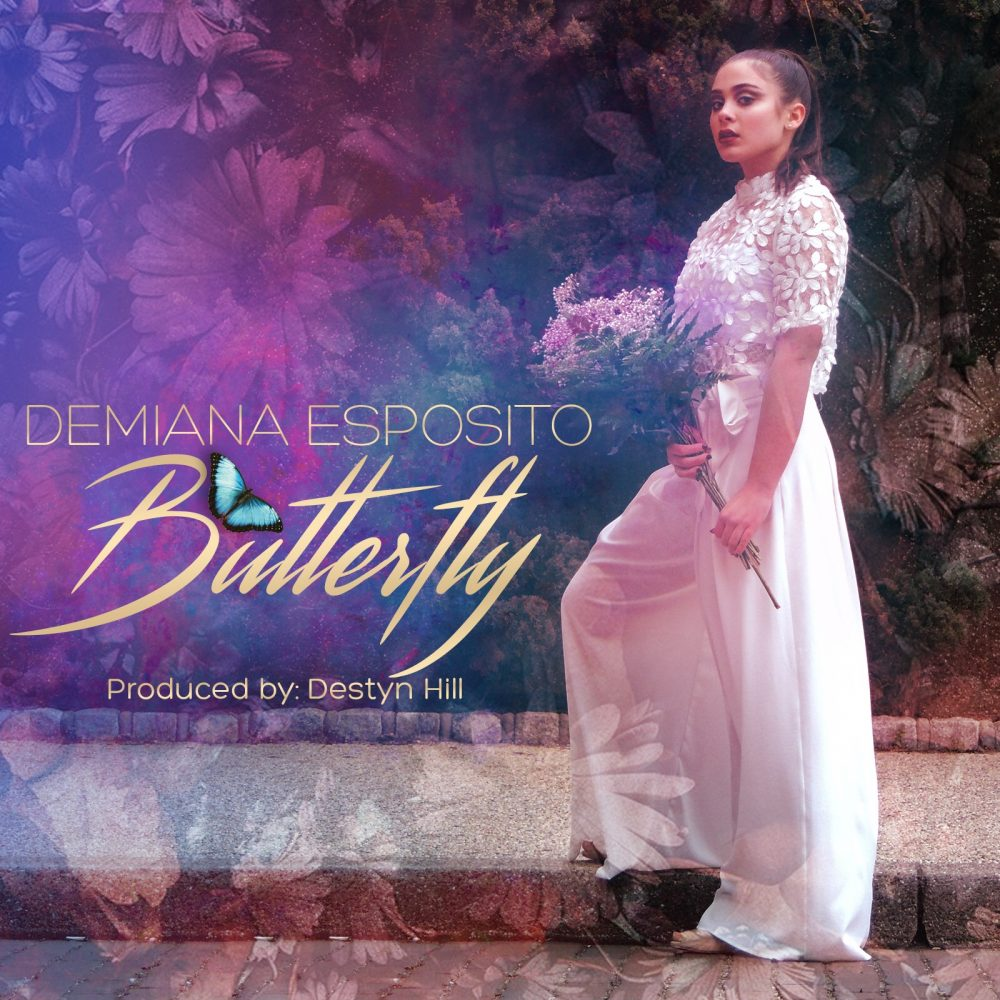 "World Premier of Demiana Esposito's Visual Editorial ""Butterfly"""