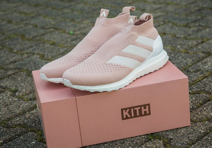 "Kith x Adidas Ace 16+ Ultra Boost ""Vapour Pink"""
