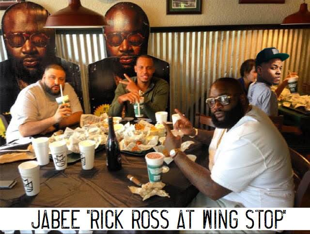 New Music: Jabee – Rick Ross at Wing Stop | @mynameisJabee