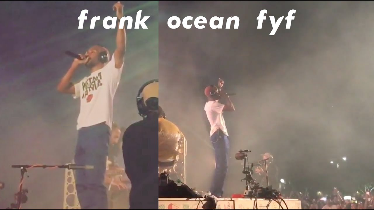 Someone Made a Full Concert Film out of Fan Footage From Frank Ocean's FYF Set