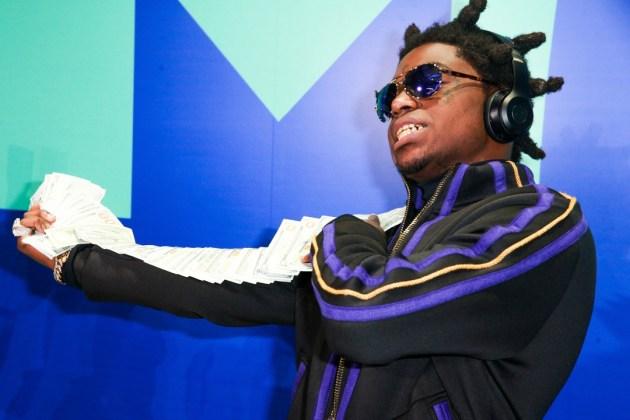 Kodak Black Acts a Fool at the 2017 MTV Video Music Awards