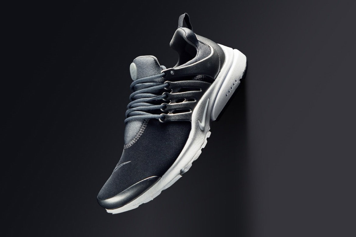 "Nike Air Presto Gets a Cool Steel ""Metallic Hematite"" Colorway"