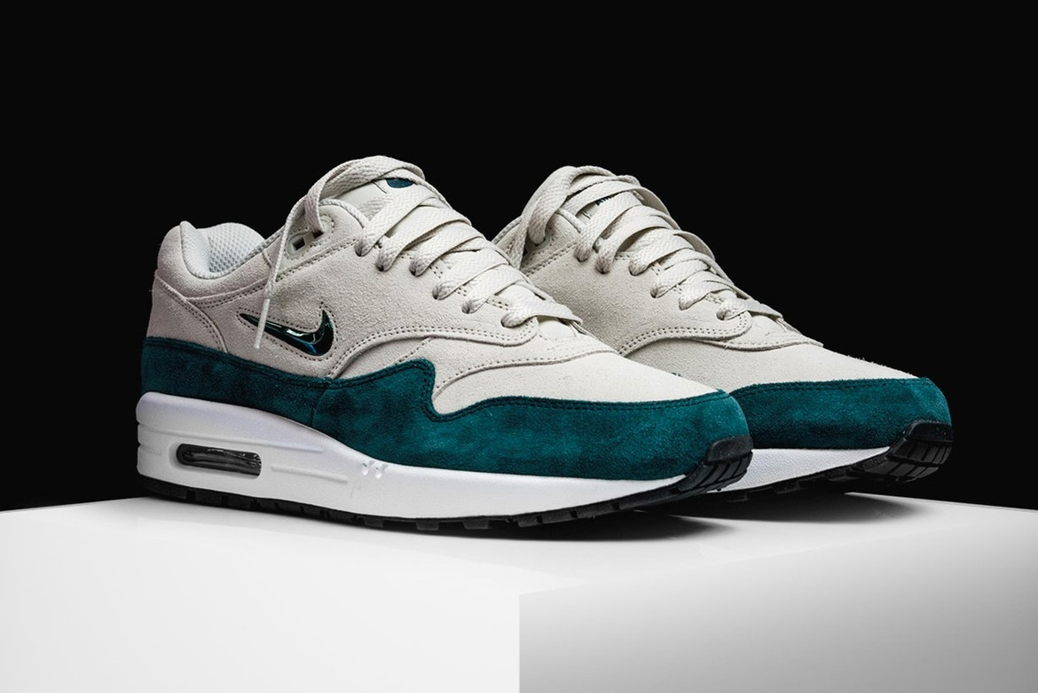 Nike's Air Max 1 Jewel Gets a Rich Emerald Upgrade