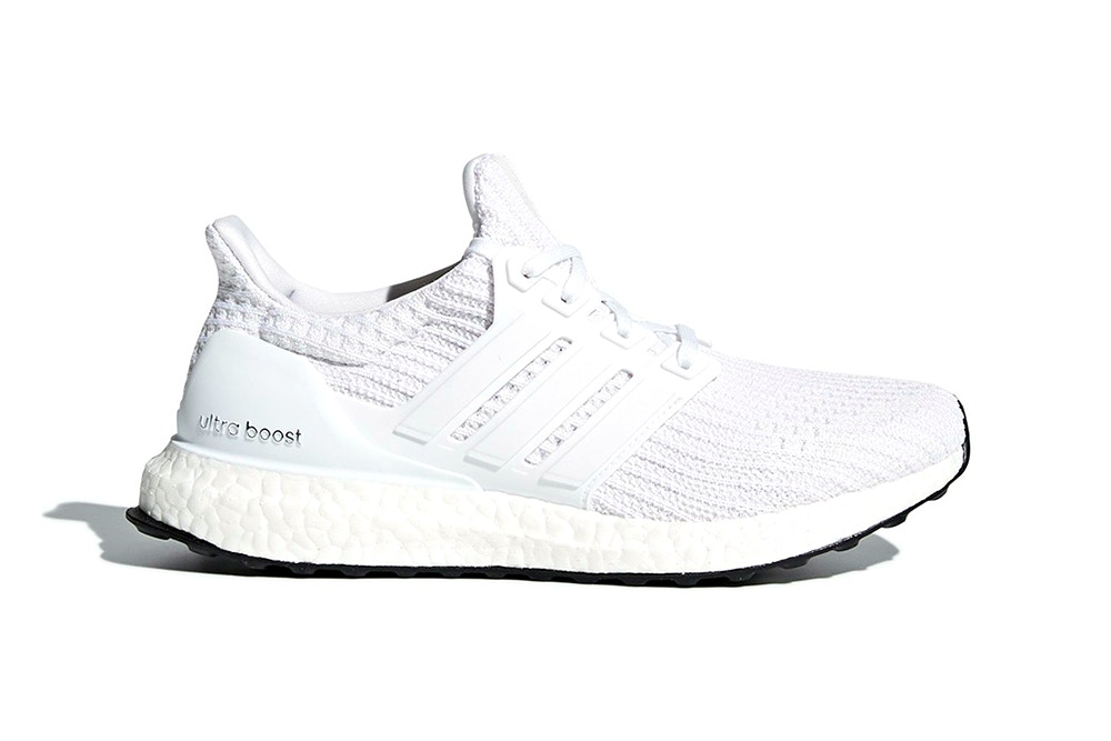 """The adidas Ultra BOOST 4.0 """"Core White"""" Receives an Official a Release"""