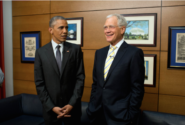 Barack Obama Will Be the First Guest on David Letterman's New Netflix Show