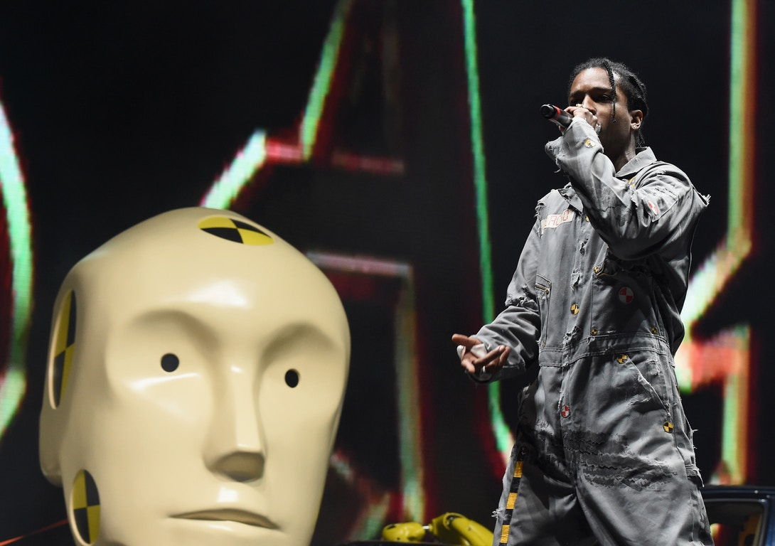 "Listen to A$AP Rocky's New Track, ""5IVE $TAR$"""