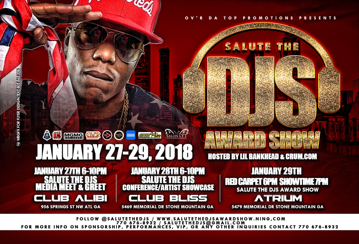 The 9th Annual Salute The DJ's Awards Is Going Down Jan. 27 – 29 |