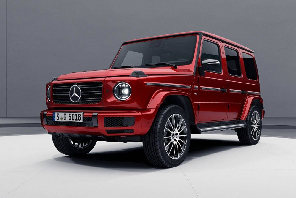 "Mercedes-Benz Introduces the 2019 G-Class ""Night Package"""