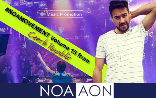 NOA AON – 'NOAMOVEMENT Volume 15 from Czech Republic'