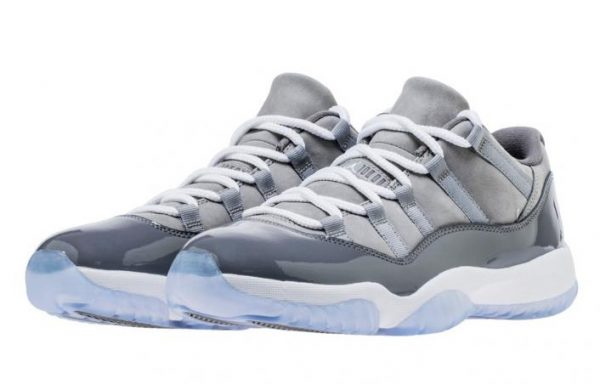 The Air Jordan XI Low 'Cool Grey' Set Drop For The First Time Ever