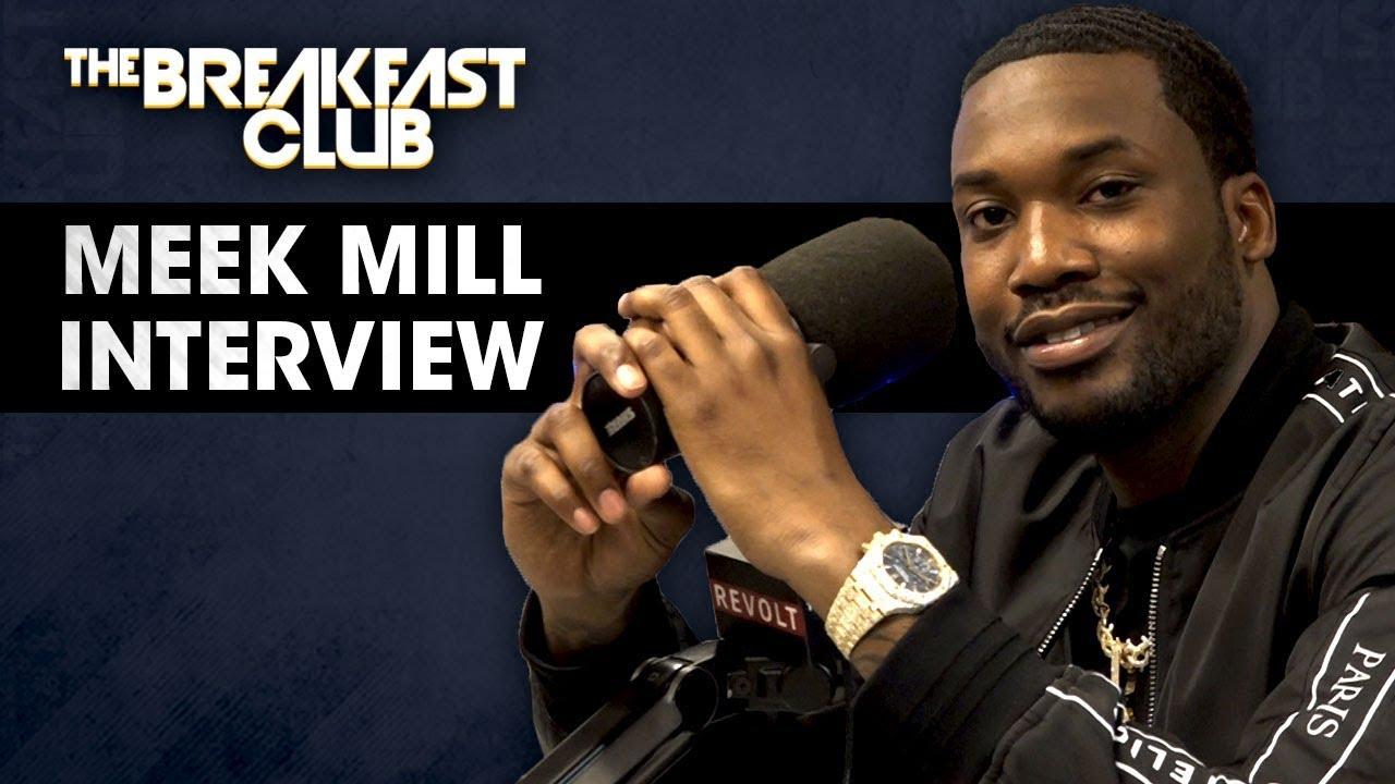 Meek Mill Talks Justice Reform, Opioid Addiction, Talks With T.I. Nicki Minaj + More