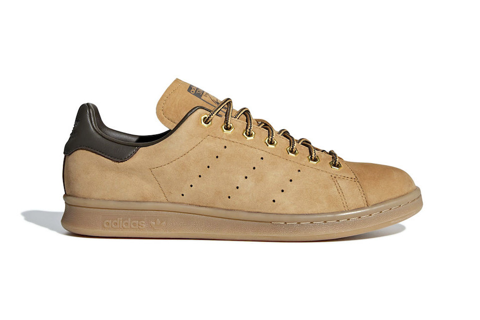 "Adidas Reworks the Classic Stan Smith in a Boot-Like ""Wheat"" Finish"