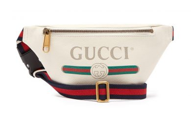 296955f1beb5 Gucci Drops a Vintage-Style Belt Bag in Off-White Leather