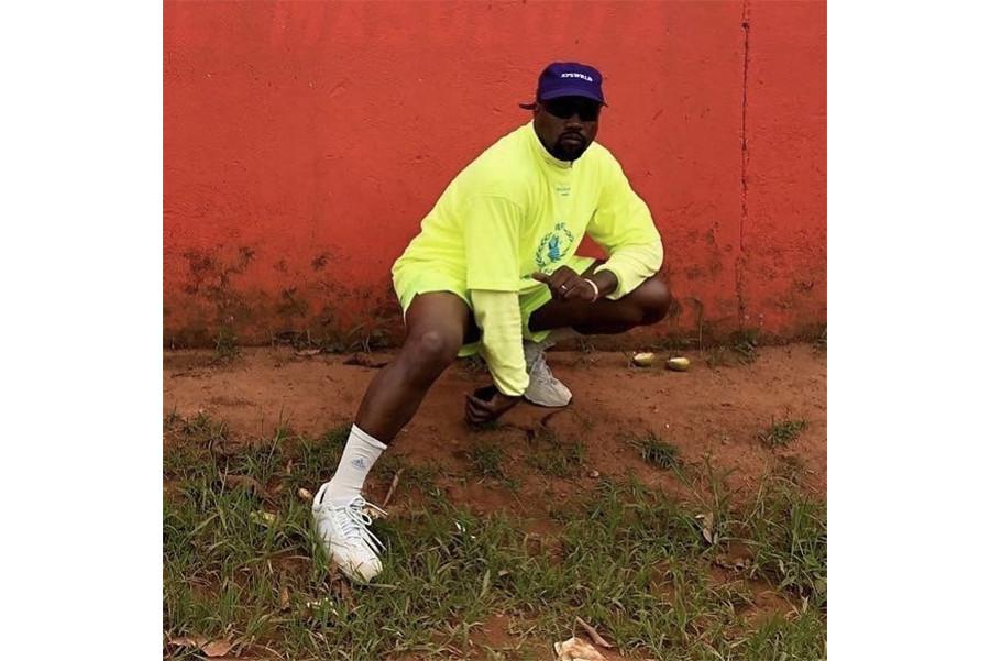 Kanye West Gifts YEEZY BOOST 350 V2 to Kids in Uganda