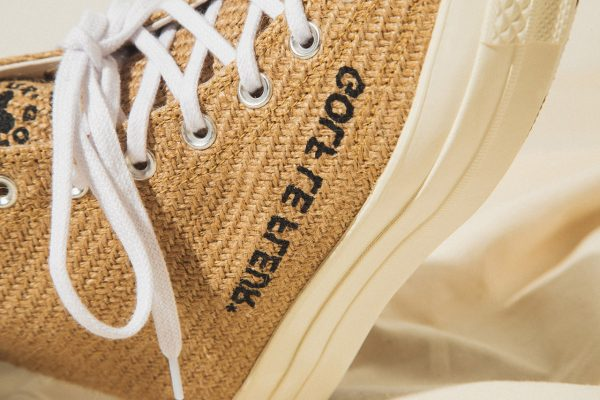 "An On-Foot Look at GOLF le FLEUR* x Converse ""Burlap"" Pack"
