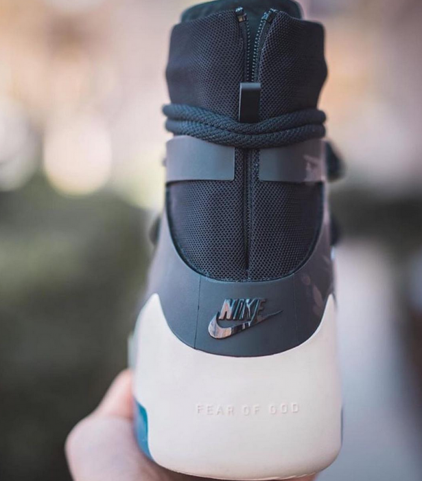 check out f8ff0 ea5d1 Nike Air Fear of God 1. Color  Black Black Style Code  AR4237-001. Release  Date  December 4, 2018. Price   395