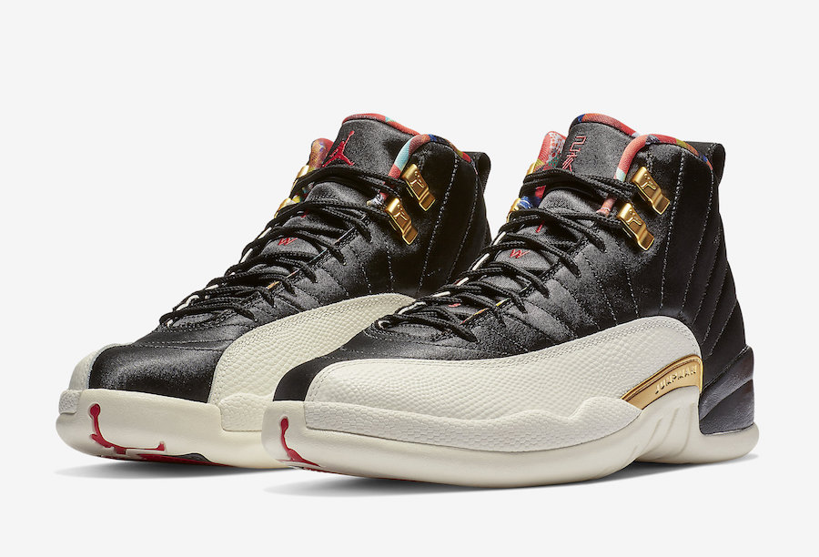"Air Jordan 12 ""Chinese New Year"" Official Photos"