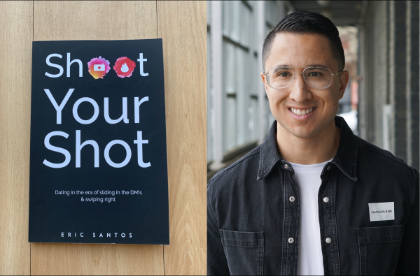 "Interview With Eric Santos In His Book ""Shoot Your Shot"" And Dating In The Era Of Social Media And Apps."