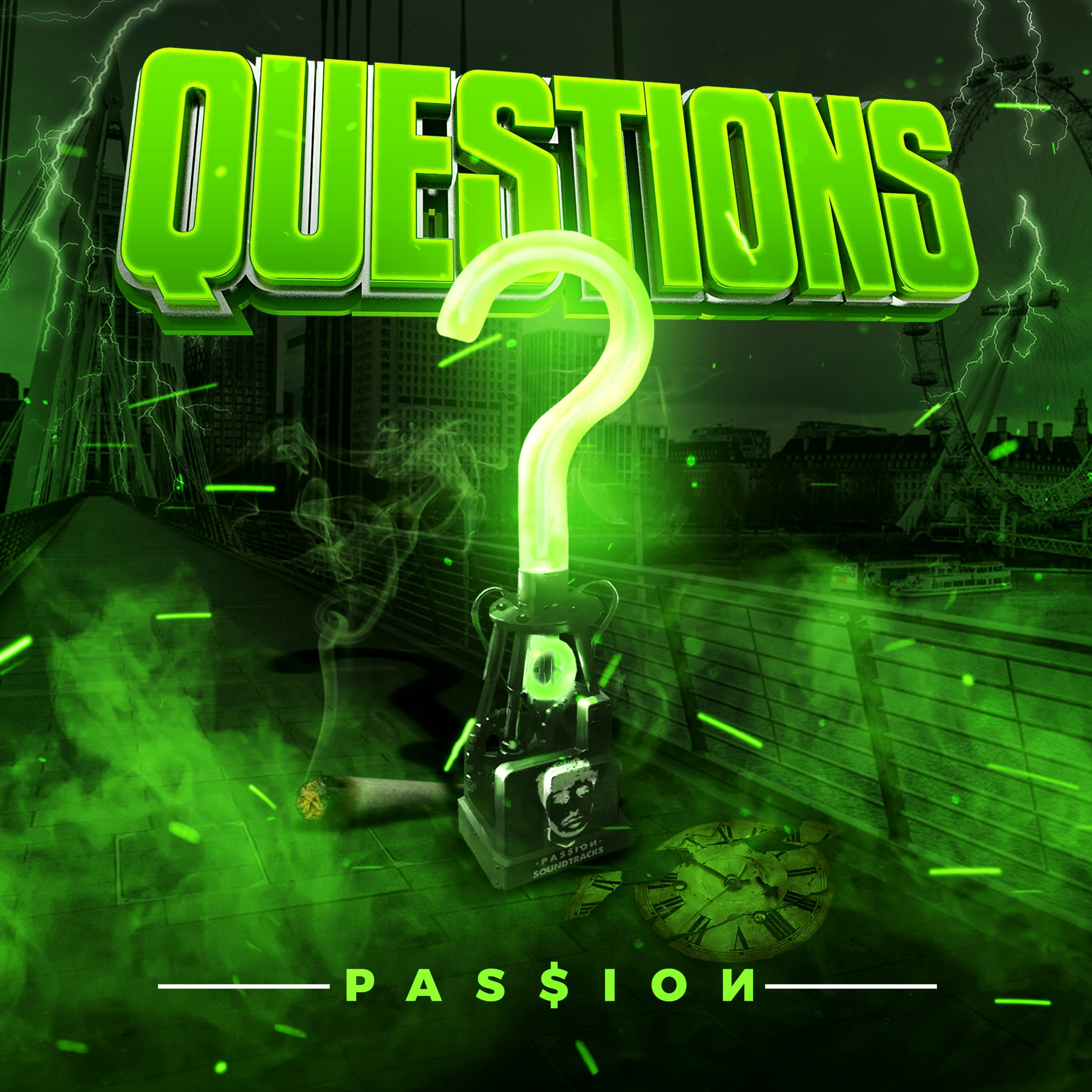 "Introducing P A S $ I O N And His Debut Single ""Questions"""
