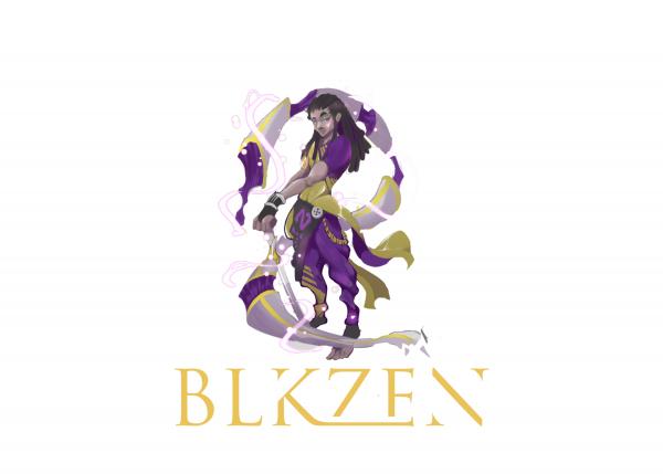 Stranger Places by Upcoming Superstar, BLKZEN